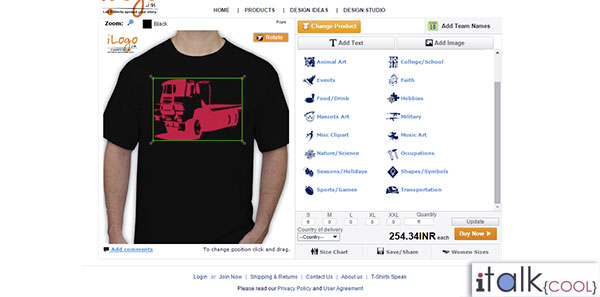 ilogo design your own tshirts