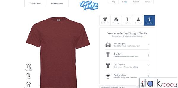 uber prints personized tshirts