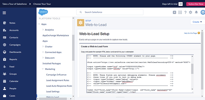 web-to-lead-generate-code