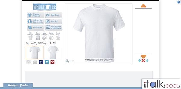 custom Tshirts whooptee