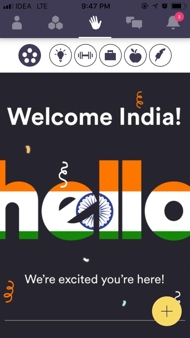 hello social network app India