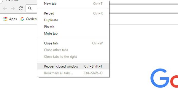 How to Restore Tabs in Chrome, Firefox, Opera and Edge