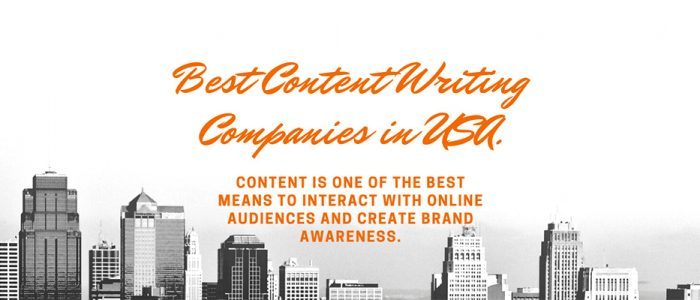 Best Content Writing Companies in USA 2021